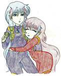 Ali  and Ann by iliowahine