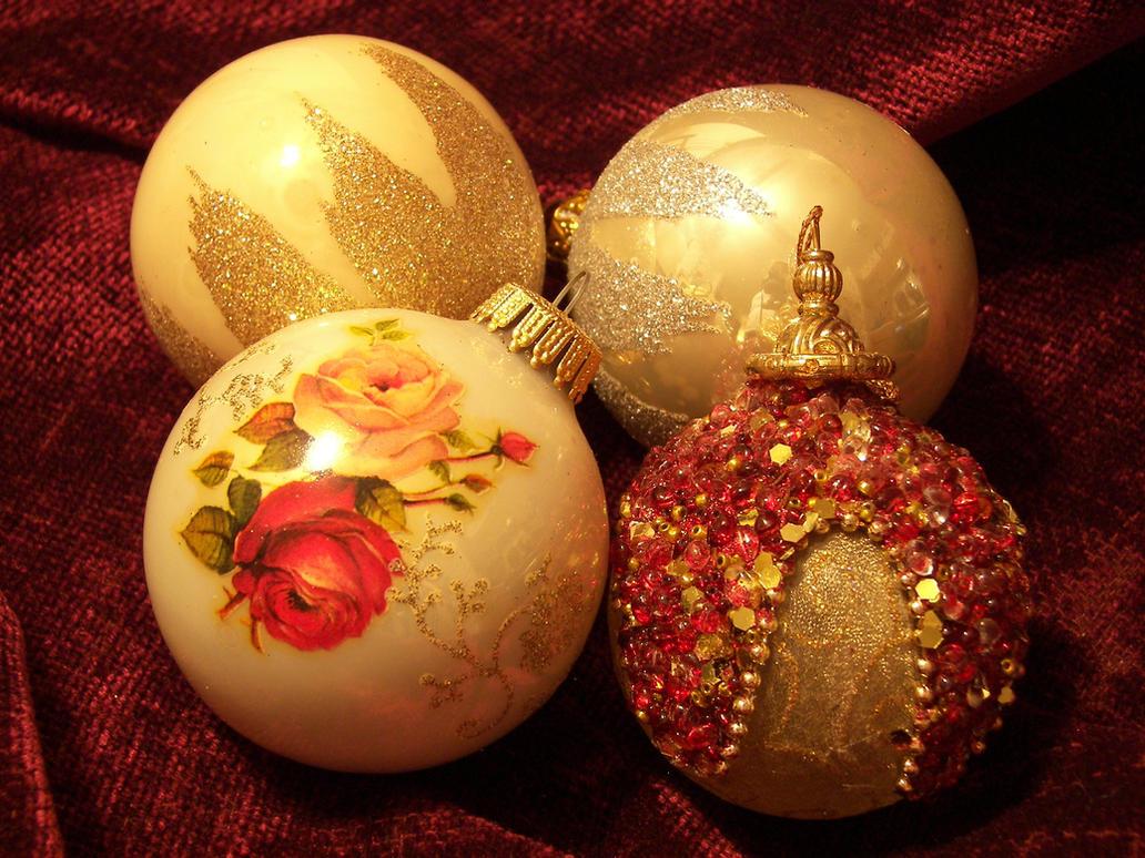 Christmas Ornaments by seiyastock