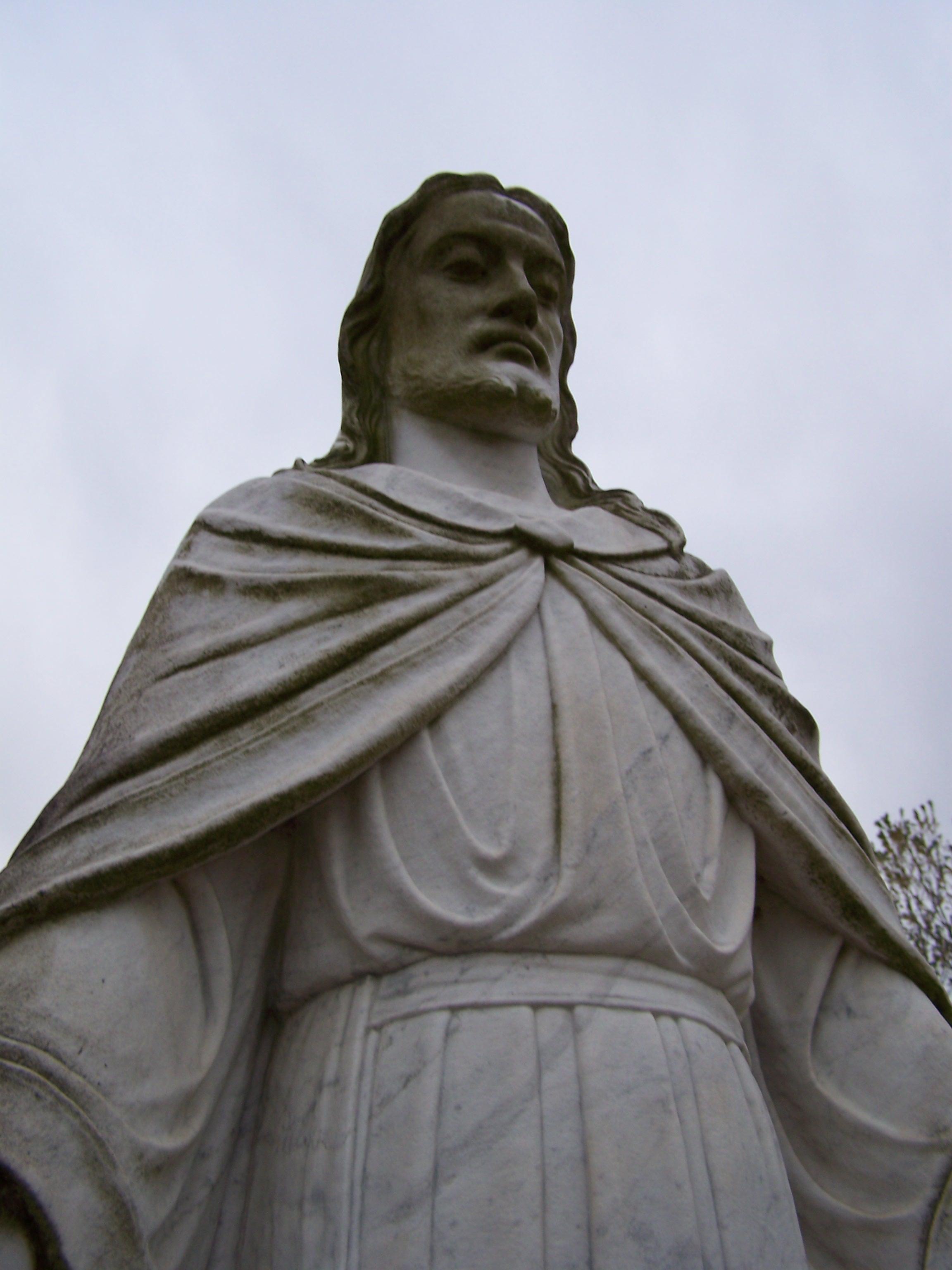 Cemetery Statue by seiyastock
