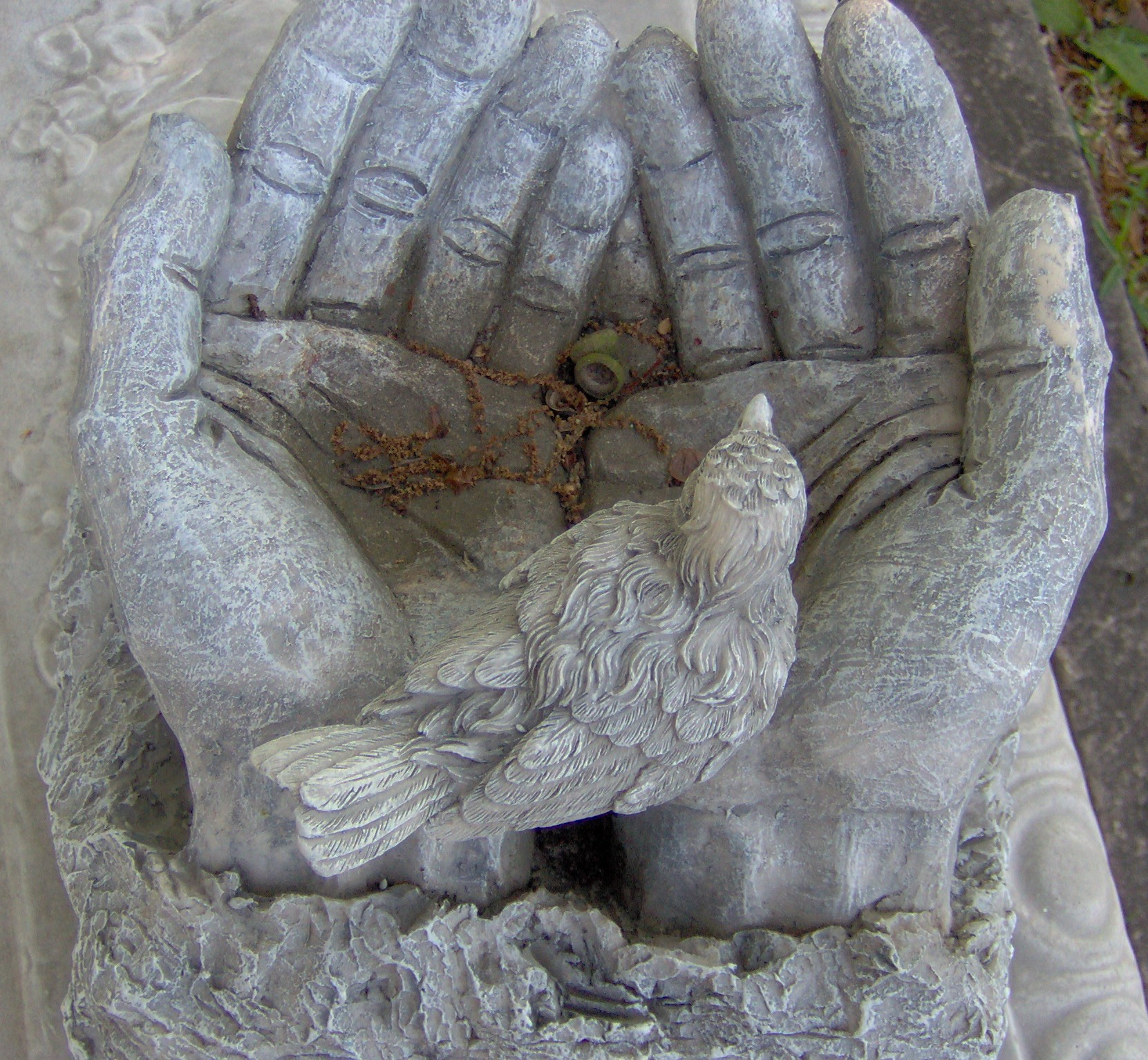 Grave Stone Hands