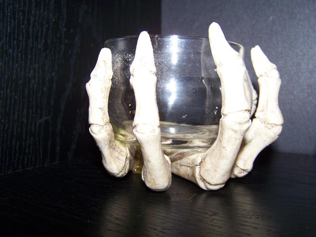 Skeleton Hand 2 by seiyastock