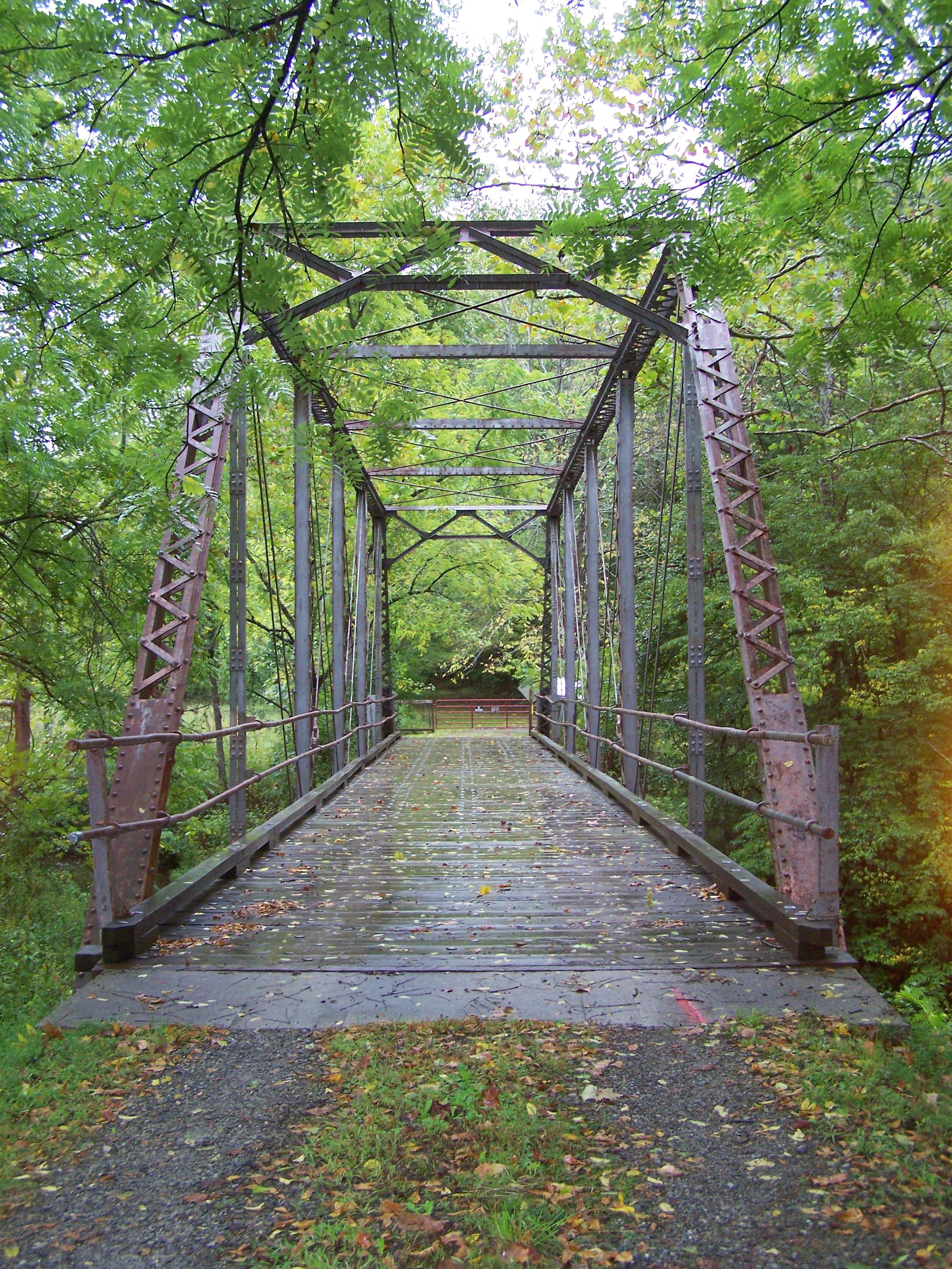 Old Iron Bridge by seiyastock