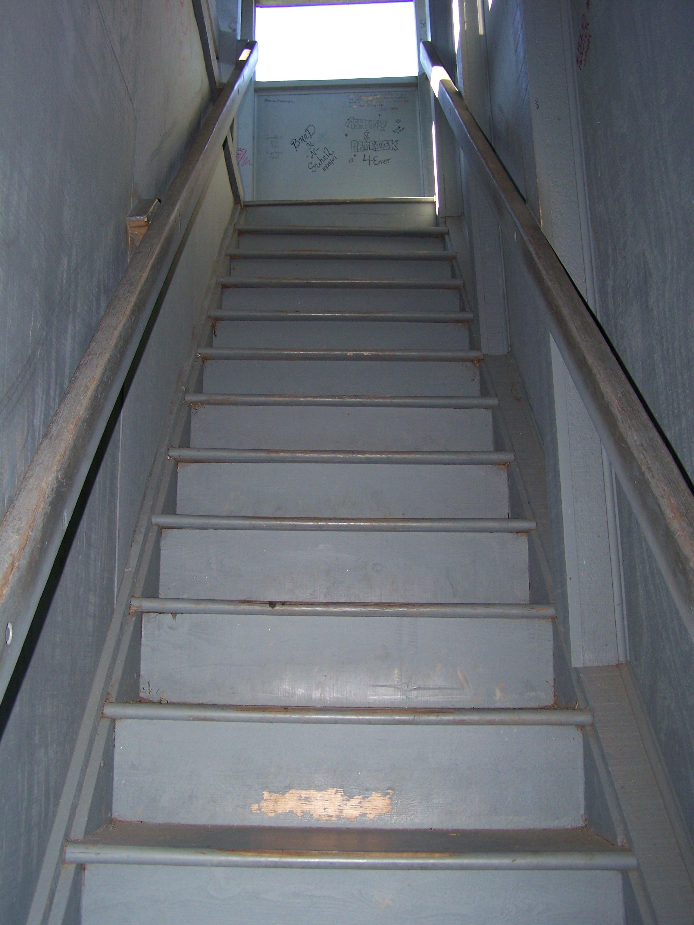 Gray Stairway by seiyastock