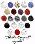 Seiyastock Christmas Ornaments
