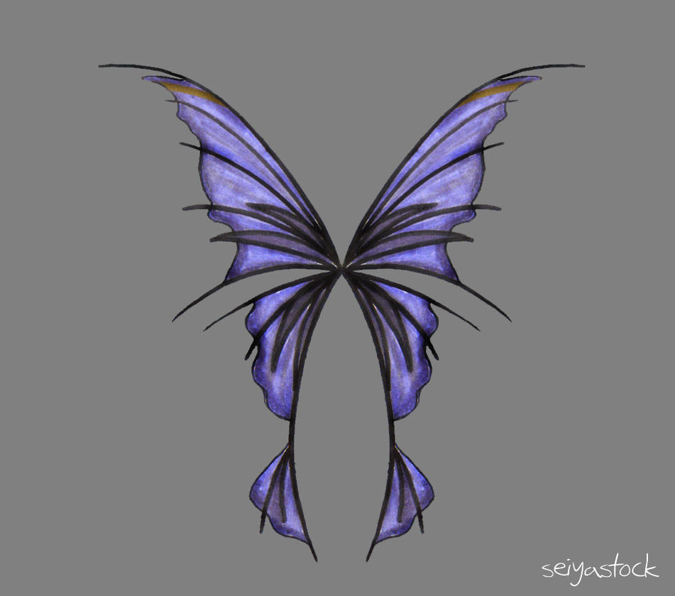 The gallery for --> Dark Fairy Wings Drawing