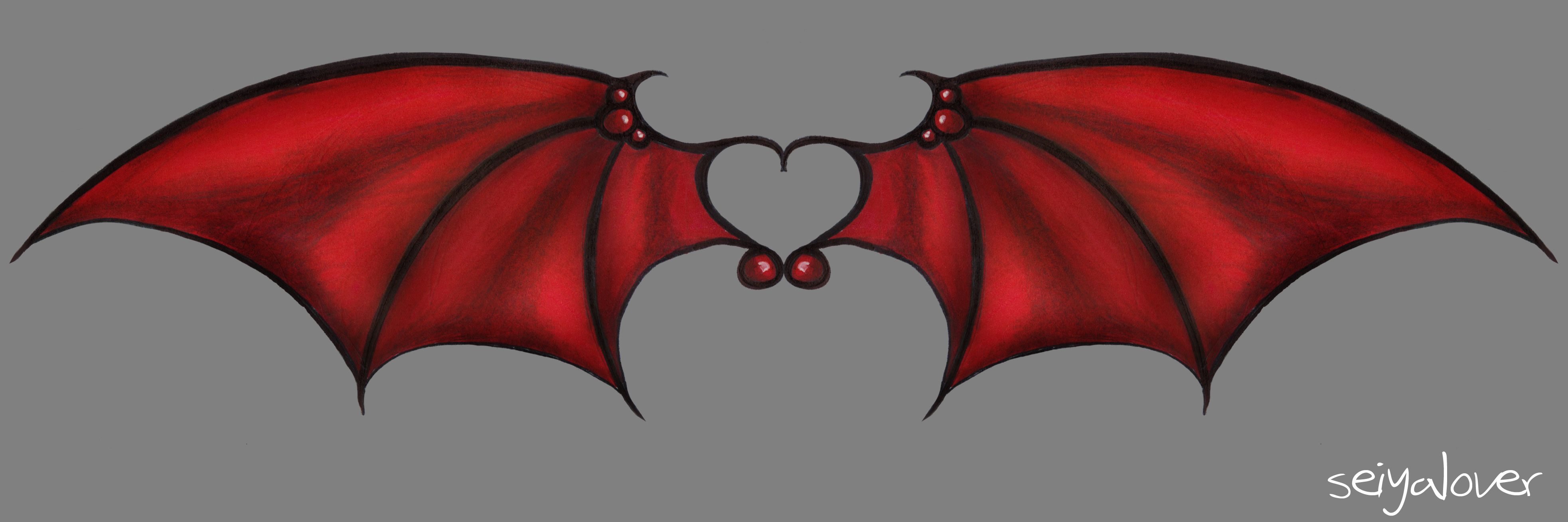 Demon Wings by seiyastock on DeviantArt