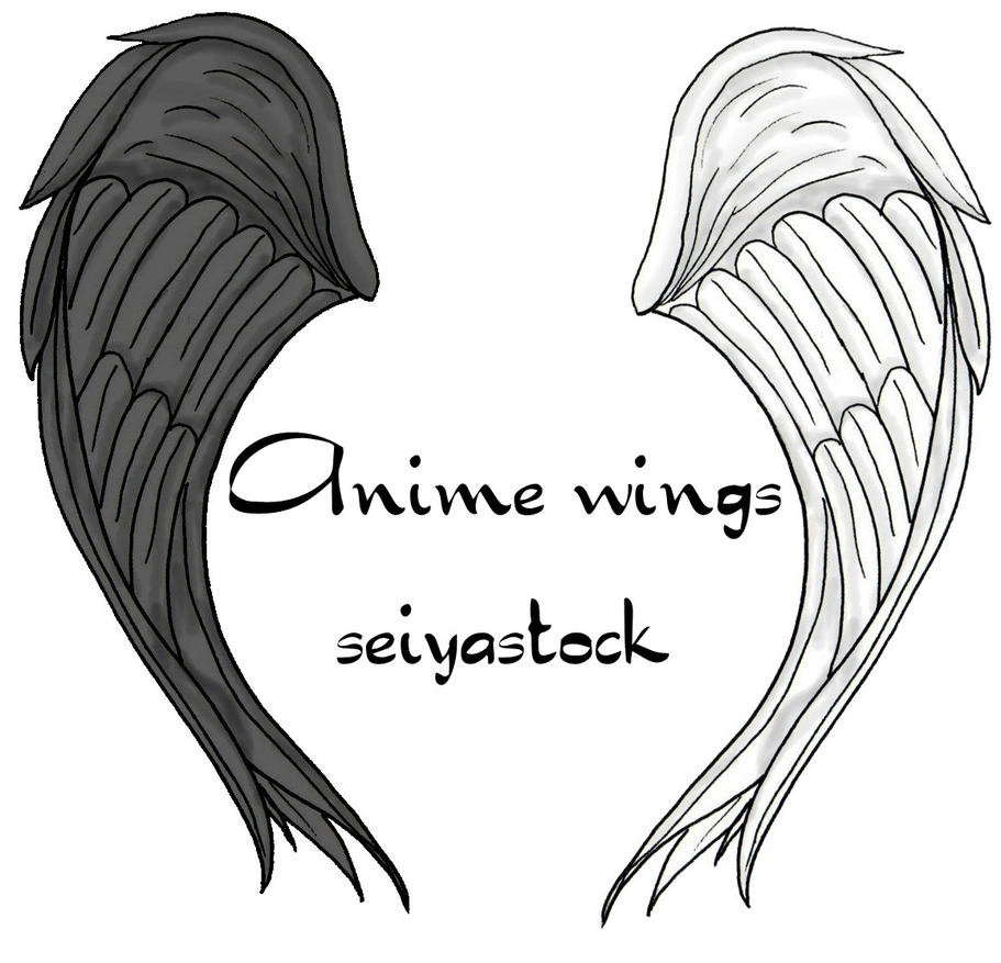 anime wings seiyastock by seiyastock on DeviantArt