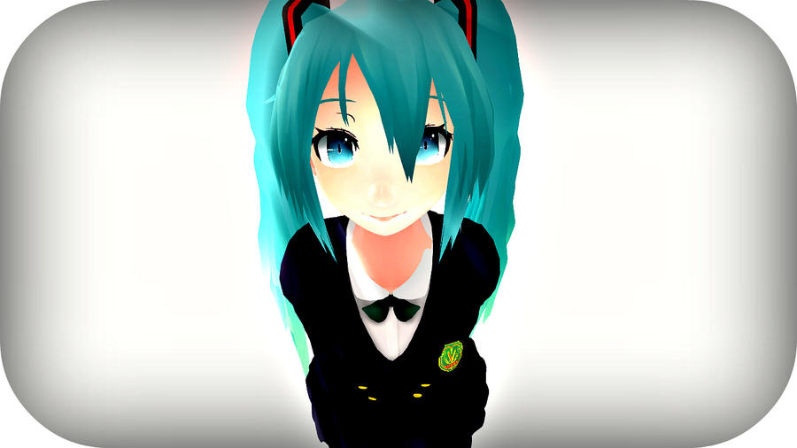 Miku-Another MMD work by Mily120