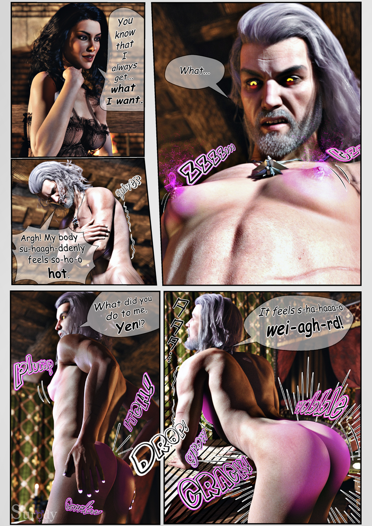 Sorceresses Bedtime Stories Page 2/6 by surody
