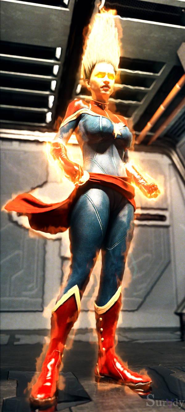 Captain Marvel (Binary)