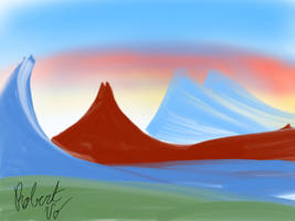 Mountains  by TheSeaGoat2960