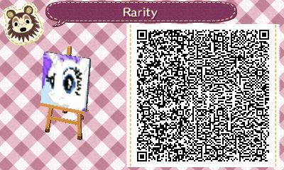 Rarity Animal Crossing Pattern QR Code by PrismsPalette