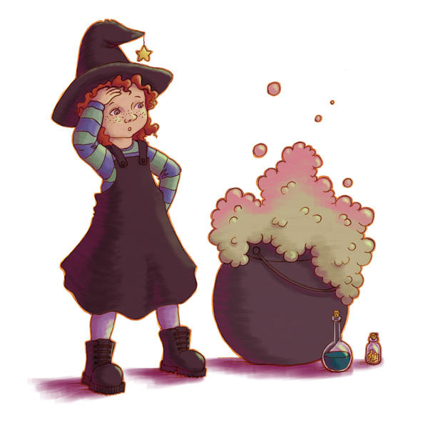 Little witch by Hanni-Elfe