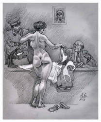 Interrogation of foreign spy. (ENF-CMNF) by OzorNick