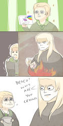 HP: POOR DRACO by Randomsplashes