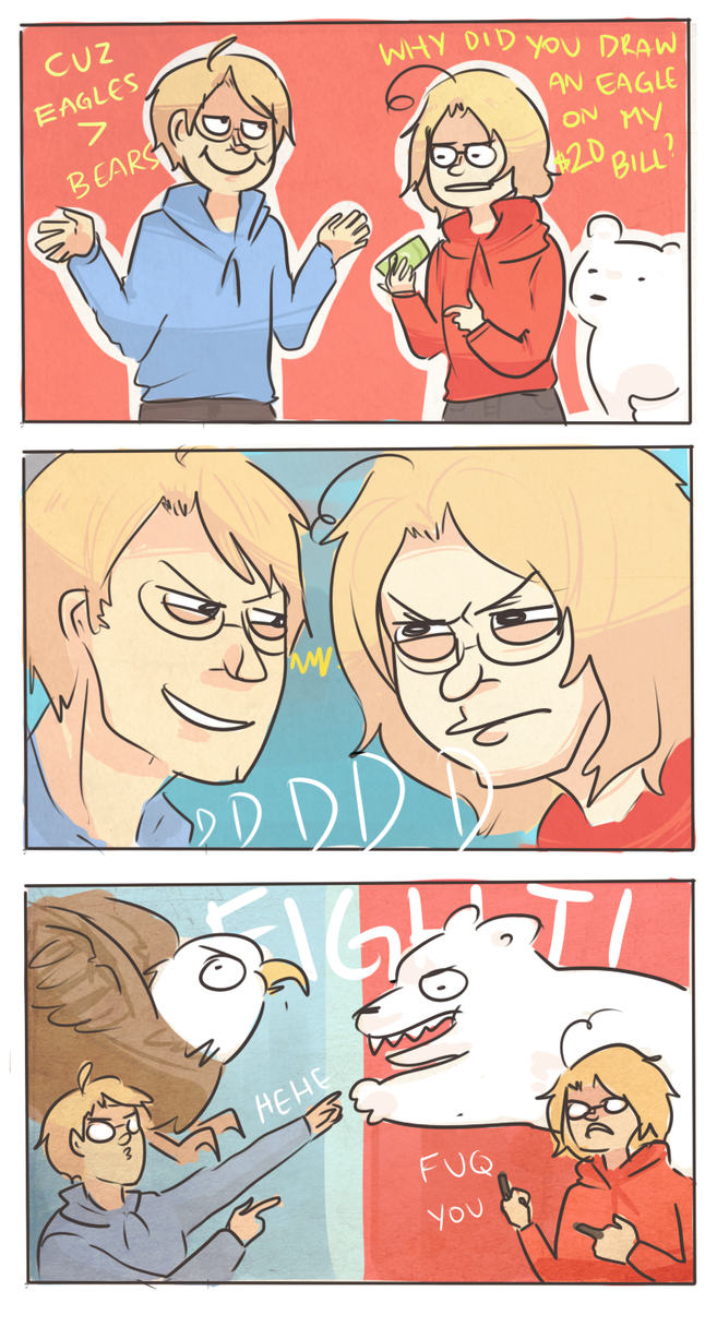 APH: EAGLES VS BEARS by Randomsplashes
