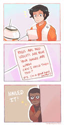 HOW TO WOO POE DAMERON by Randomsplashes