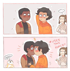 THE PERKS OF USING THE FORCE: GETTING YOUR TWO BFF