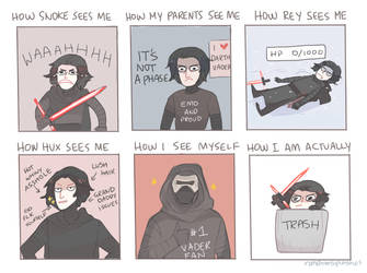 how people see kylo ren by Randomsplashes