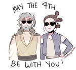 Happy Star Wars Day! May the 4th be with you
