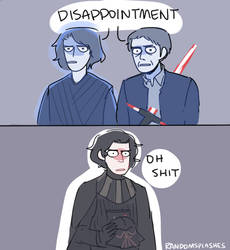 how to disappoint ur grandpa and dad: by kylo ren by Randomsplashes