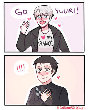 YOI: CHEERING FOR UR FIANCE