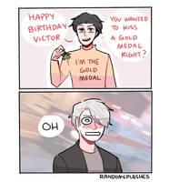 MERRY BIRTHDAY VICTOR!!!! by Randomsplashes