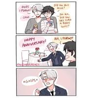 YOI: HAPPY ANNIVERSARY by Randomsplashes
