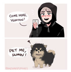 BTS: PET ME HUMAN!!!!!!!!!!!