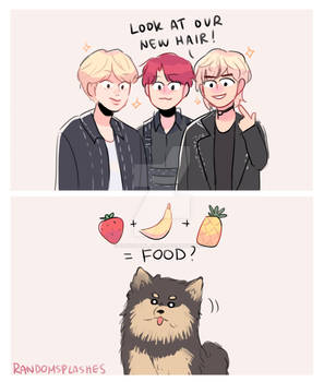BTS: WHAT YEONTAN THINKS OF THE HAIR COLORS