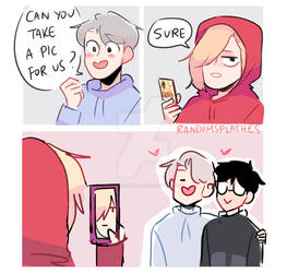 YOI: CAN YOU TAKE A PIC OF US?