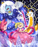 Fionna And The Ice Queen by shucakes