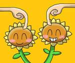 Twin Sunflower Simulator