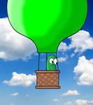 Larry Gets a Hot Air Balloon