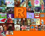 Character Alphabet -R