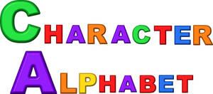 Character Alphabet Logo