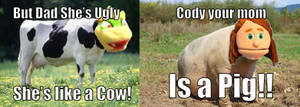 Mom are Farm Animals