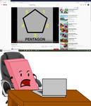 Eraser's Reaction to Pentagon Song