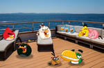 Angry Birds in Cruise Ship