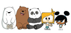 Meeting Grizzly, Panda, Ice Bear