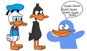 A Blue Duck