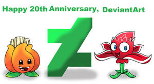 Happy 20th Anniversary, DeviantArt