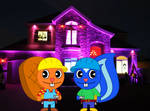 Handy and Petunia as Bob The Builder and Wendy [Ha