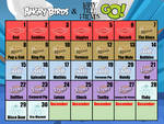 Angry Birds and Happy Tree Friends Go! Calender