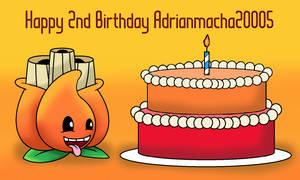 Happy 2nd Birthday  Adrianmacha20005