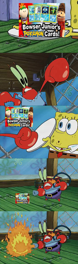 Mr. Krabs Hates New Video with Harry (SML)