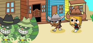 Chasing in Wild West