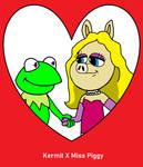 Valentine for Kermit and Miss Piggy