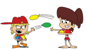 Playing with Water Balloons