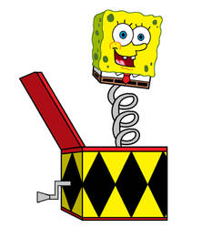 Spongebob Jack in The Box by adrianmacha20005